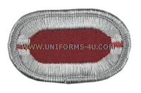 US ARMY 503 INFANTRY 1ST BATTALION OVAL