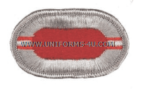 US ARMY 503 INFANTRY 2ND BATTALION OVAL