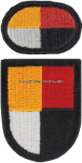 U.S. ARMY 3RD SPECIAL FORCES GROUP (AIRBORNE) FLASH AND OVAL