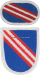 U.S. ARMY 4TH SPECIAL OPERATIONS SUPPORT COMMAND FLASH AND OVAL