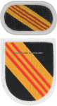 US ARMY 5 SPECIAL FORCES GROUP OLD VIETNAM FLASH AND OVAL