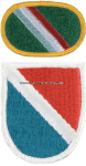 U.S. ARMY 11TH SPECIAL FORCES GROUP (AIRBORNE) FLASH AND OVAL