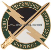 U.S. Army 1st Information Operations Command Unit Crest