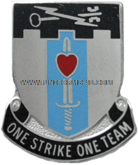 U.S. ARMY SPECIAL TROOPS BATTALION, 2ND BCT, 101ST AIRBORNE UNIT CREST