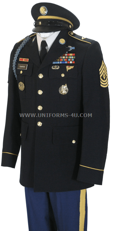 Us army dress blues regulations - Best Dressed