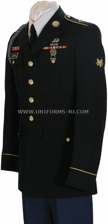 Army Dress Blues Enlisted | www.pixshark.com - Images ...