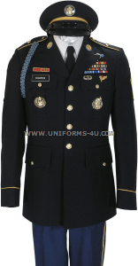 U.S. ARMY MALE ENLISTED ARMY SERVICE UNIFORM