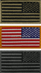 UNITED STATES FLAG REVERSE SIDE FLAG PATCH