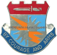 US ARMY 3 BRIGADE 25 INFANTRY SPECIAL TROOPS BATTALION UNIT CREST