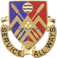 US ARMY 29 SUPPORT BATTALION UNIT CREST