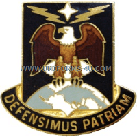 US ARMY 49 MISSILE DEFENSE BATTALION UNIT CREST