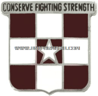 US ARMY 55 MEDICAL GROUP UNIT CREST