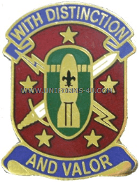 U.S. ARMY 71ST ORDNANCE GROUP UNIT CREST