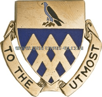 US ARMY 101 CAVALRY REGIMENT UNIT CREST