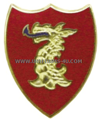 US ARMY 114 FIELD ARTILLERY REGIMENT UNIT CREST