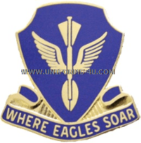 US ARMY 132 AVIATION BATTALION UNIT CREST