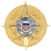 COAST GUARD COMMANDANT'S STAFF IDENTIFICATION BADGE