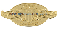 COAST GUARD COMPANY COMMANDER BADGE