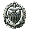 COAST GUARD OFFICER IN CHARGE AFLOAT BADGE