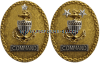 COAST GUARD GOLD COMMAND / AREA BADGE
