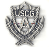 Coast Guard Auxiliary Past Officer Badge
