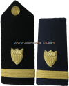 coast guard hard shoulder boards  ensign