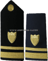 coast guard hard shoulder boards lieutenant junior grade