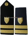 coast guard hard shoulder boards senior lieutenant
