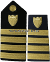 coast guard hard shoulder boards captain