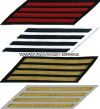 COAST GUARD SERVICE STRIPES (SET OF 4)