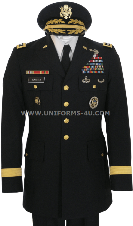 Army Service Blue Uniform 96