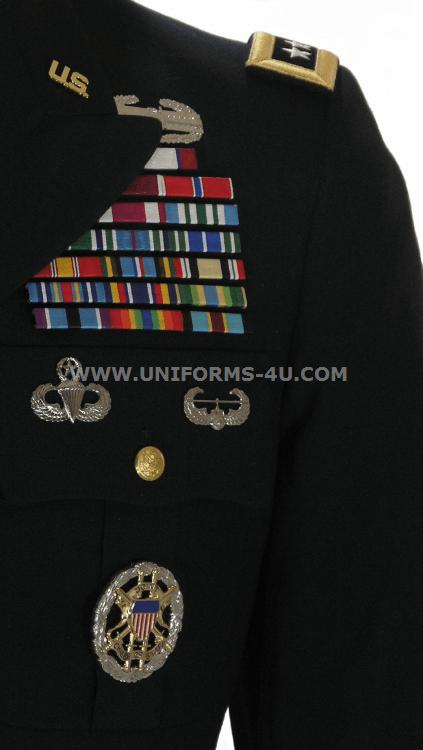 Us Army General Male Blue Army Service Uniform Asu