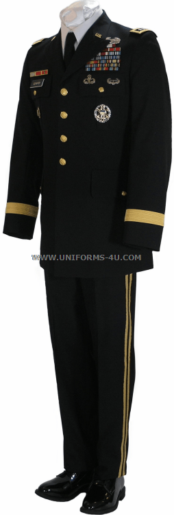Army Service Uniform Blue 35