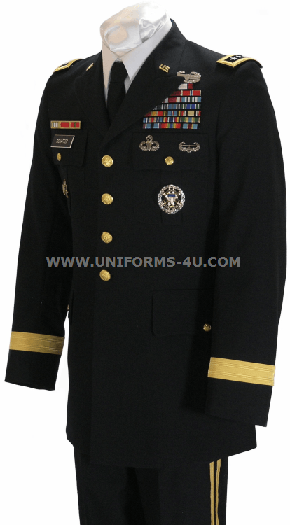 Us Army General Male Blue Army Service Uniform Asu