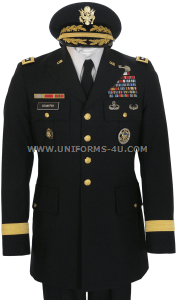 us army general male blue army service uniform - asu