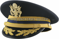 U.S. ARMY SERVICE CAP FOR FIELD GRADE CHEMICAL CORPS OFFICERS
