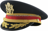 U.S. ARMY SERVICE CAP FOR FIELD GRADE ARTILLERY (FIELD AND AIR DEFENSE) OFFICERS