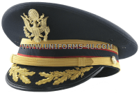 U.S. ARMY SERVICE CAP FOR FIELD GRADE ADJUTANT GENERAL'S CORPS OFFICERS