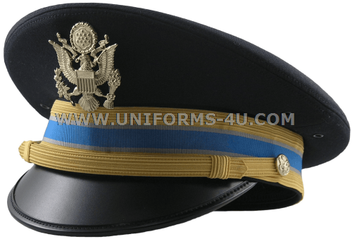 US ARMY ASU MILITARY INTELLIGENCE DRESS BLUE CG CAP