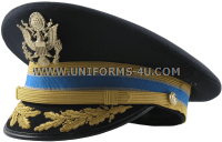U.S. ARMY SERVICE CAP FOR FIELD GRADE MILITARY INTELLIGENCE CORPS OFFICERS