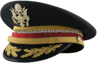 U.S. ARMY SERVICE CAP FOR FIELD GRADE CORPS OF ENGINEERS OFFICERS