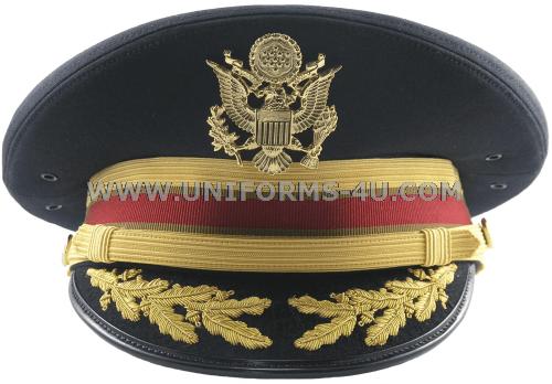 U S Army Service Cap For Field Grade Logistics Branch