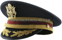 U.S. Army Service Cap for Field Grade Logistics Branch Officers