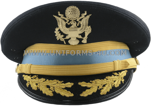 4046ba3d6eb8 U.S. ARMY SERVICE CAP FOR FIELD GRADE INFANTRY OFFICERS