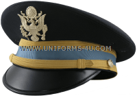 U.S. Army Service Cap for Company Grade Infantry Officers