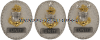 COAST GUARD COLLATERAL DUTY SILVER BADGE - UNIT