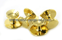US Military shirt gold studs set of 4