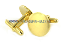 U.S. MILITARY GOLD CUFF LINKS