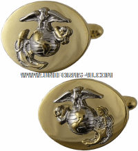 USMC OFFICER CUFF LINKS