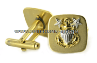 COAST GUARD MASTER CHIEF PETTY OFFICER (E-9) CUFF LINKS